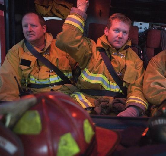 firefighter-in-firetruck