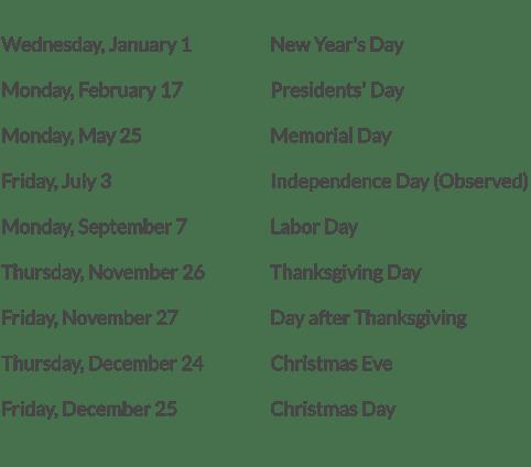 2020-office-holidays