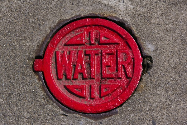 Red water cover
