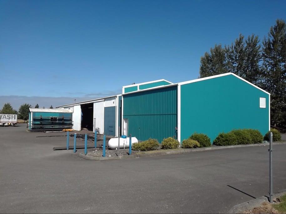 Exterior of a construction class 1 (frame) building