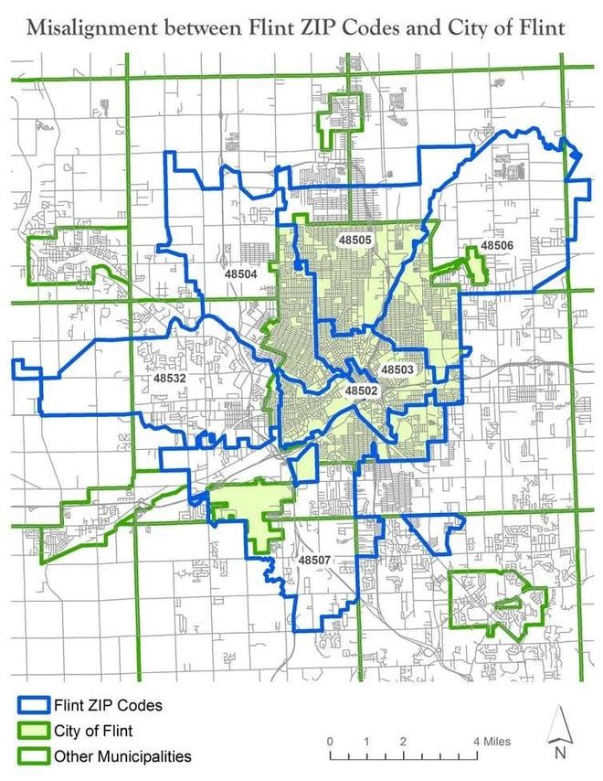 GIS Mapping and Flint, Michigan